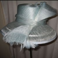 Windsor Blue Wedding Hat -SN118